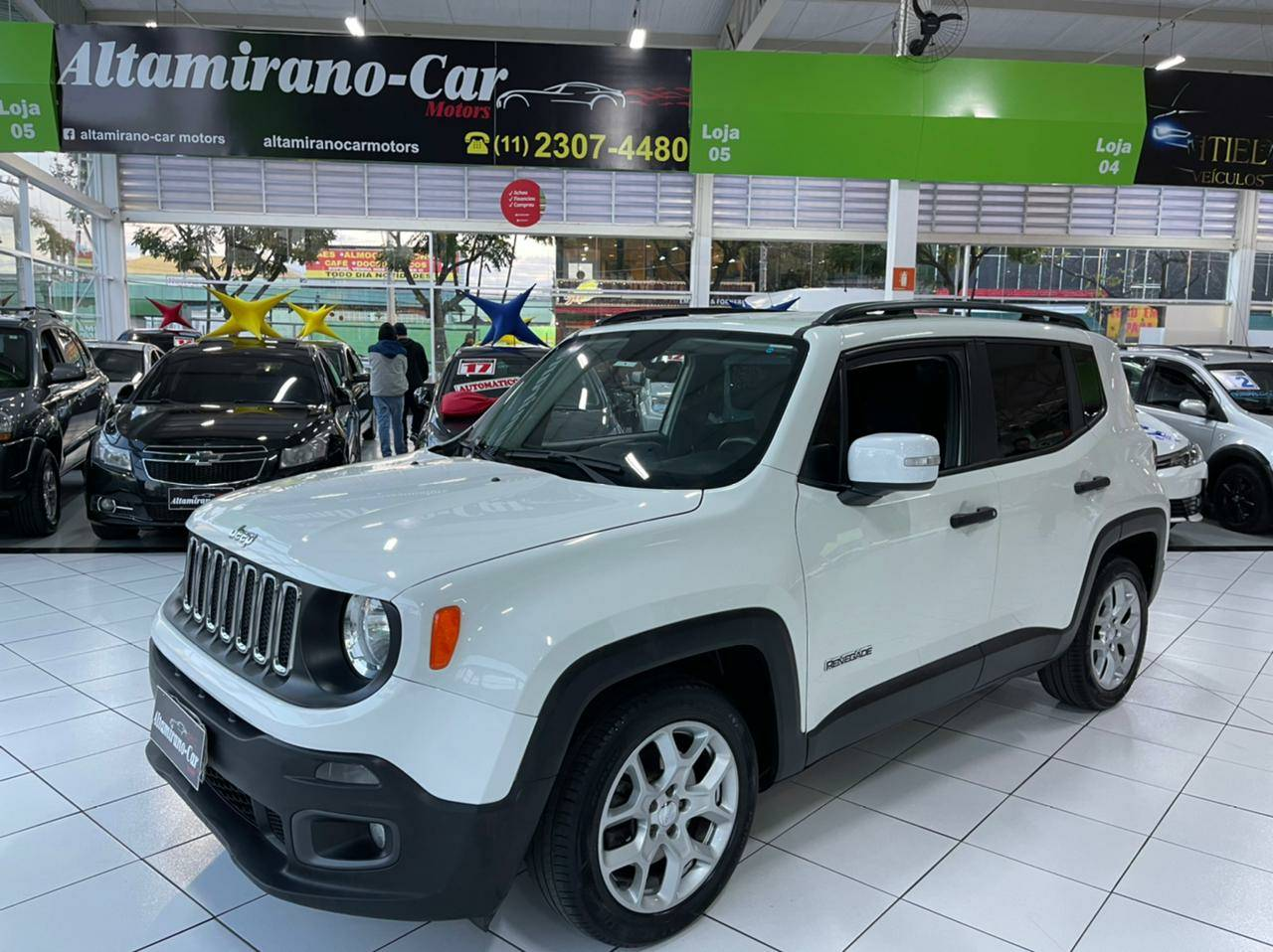 Jeep Renegade Sport – 2018 – Branco