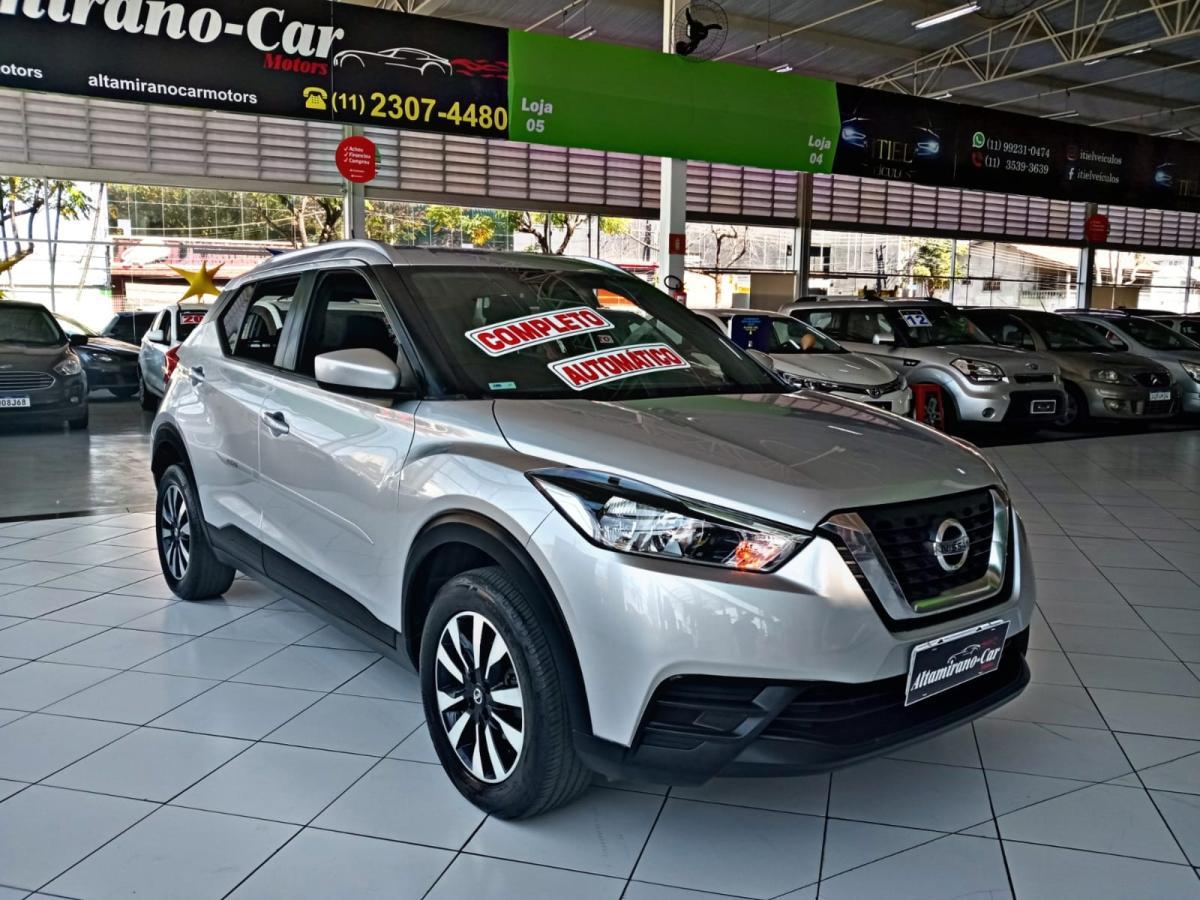 Nissan KICKS S – 2018 – Prata