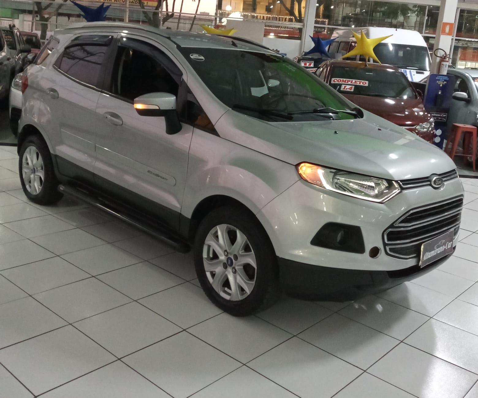 Ford EcoSport TITANIUM – 2013 – Prata