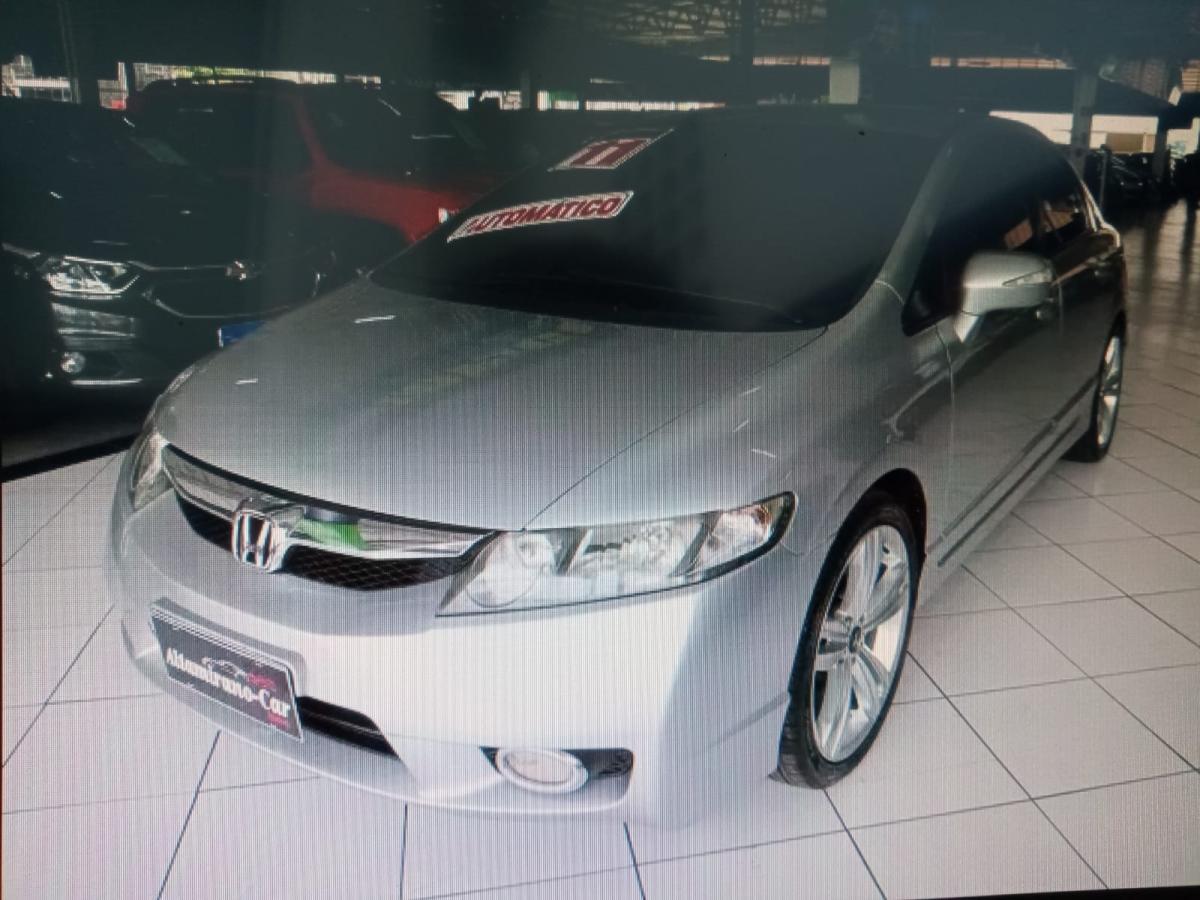 Honda Civic Sed. LXL/ LXL SE – 2011 – Prata