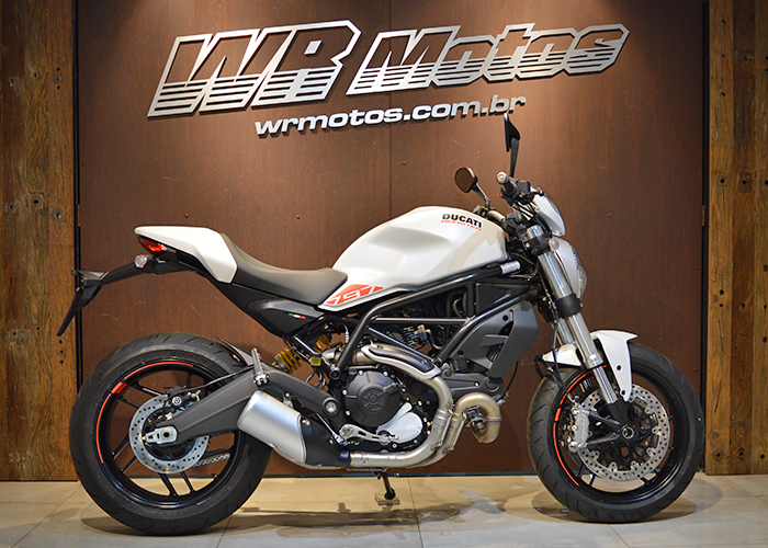 MONSTER 797 – Branco – DUCATI