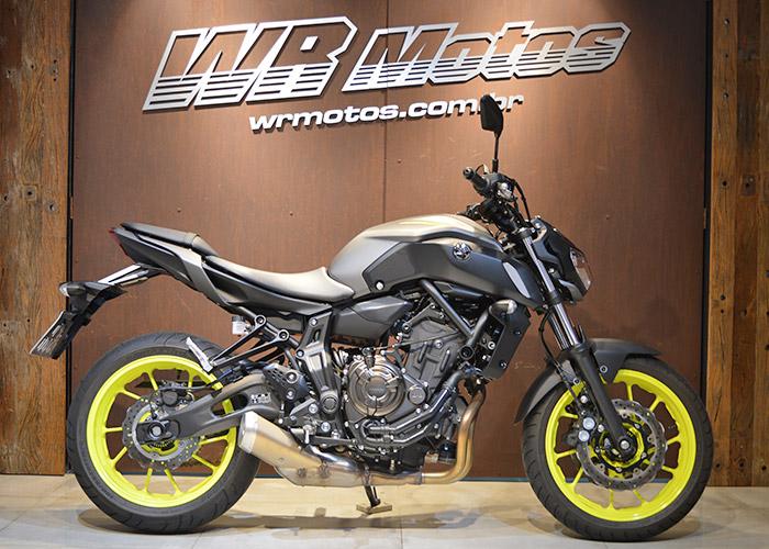 MT-07/MT-07 ABS 689cc – Cinza – YAMAHA