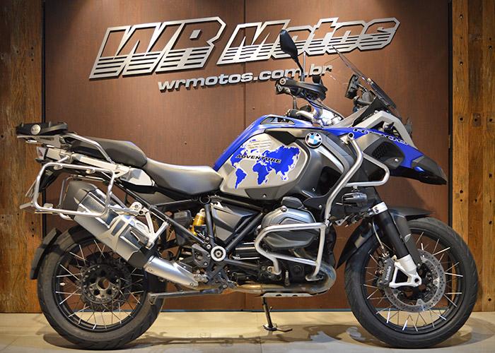 R 1200 GS Adventure – Azul – BMW