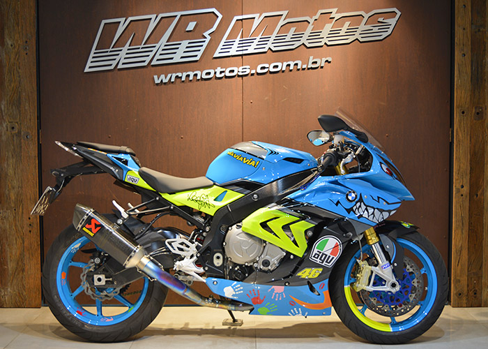 S 1000 RR – Azul – BMW
